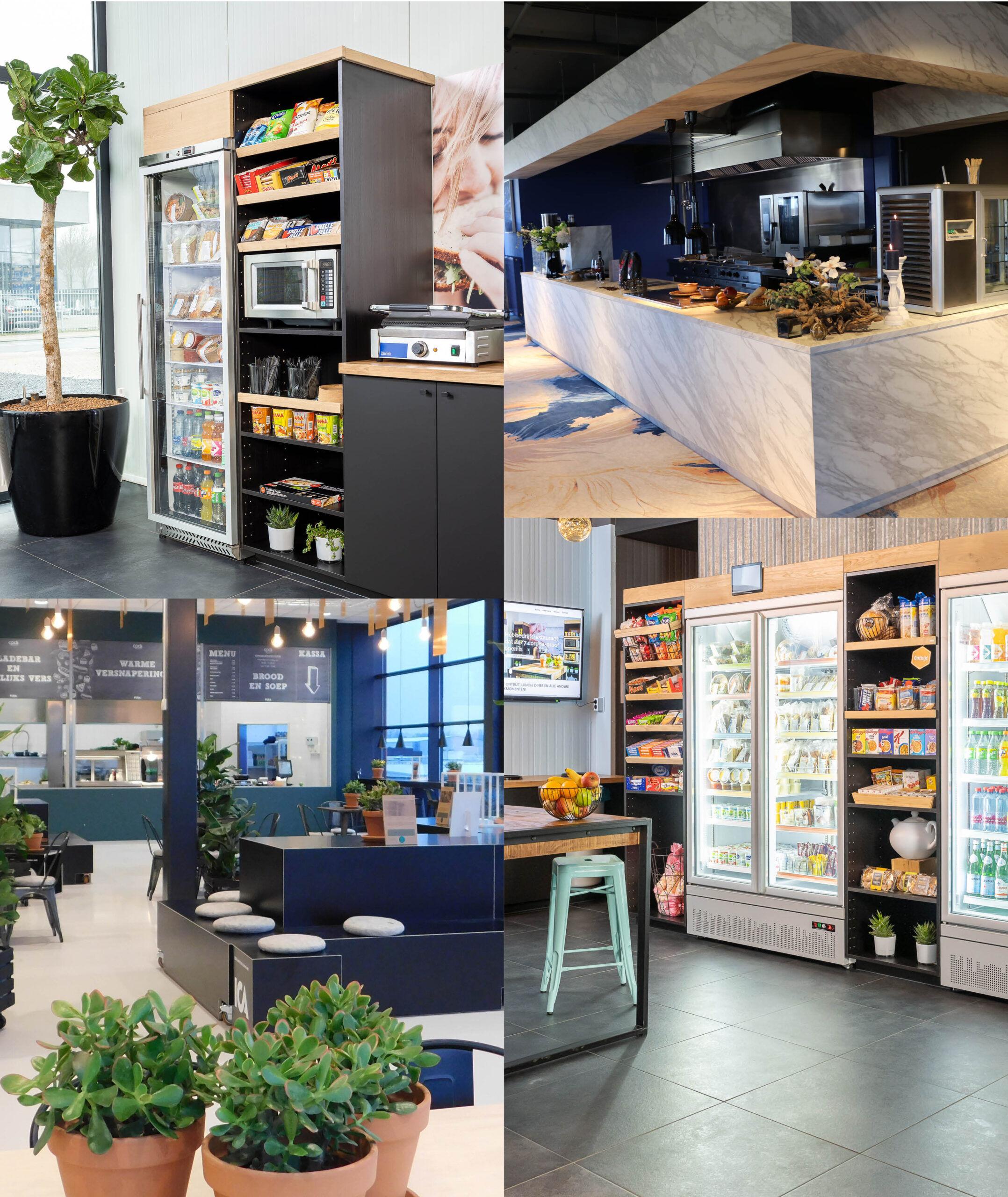 Mini Market PURA GO - Onbemande food corner
